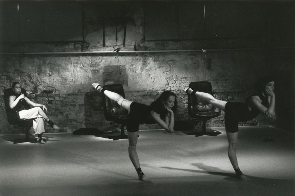 Time Wasting Faces von Thomas Guggi bei den 1 Potsdamer Tanztage 1991